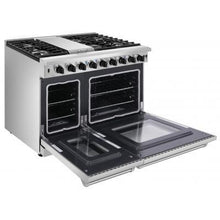 Load image into Gallery viewer, Thor Kitchen 48 in. Professional Stainless Steel Gas Range - LRG4807U - Bison Kitchens