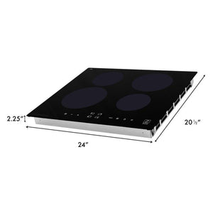 Ranges - ZLINE 24 In. Induction Cooktop With 4 Burners - (RCIND-24)