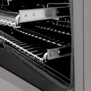 Ranges - ZLINE 30 In. Professional Dual Fuel Range In Durasnow® Stainless With Durasnow® Stainless Door - (RAS-SN-30)