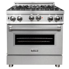 Load image into Gallery viewer, ZLINE 30 in. Professional Gas on Gas Range Stainless Steel with Snow Stainless Door (RG-SN-30) - Bison Kitchens