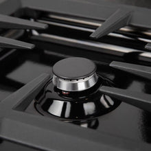 Load image into Gallery viewer, ZLINE 36 in. Dropin Cooktop With 6 Gas Burners And Black Porcelain Top (RC36-PBT) - Bison Kitchens