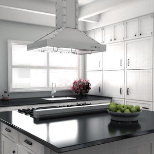 ZLINE 48 in. Porcelain Rangetop in Snow Stainless with 6 Gas Burners (RTS-48) - Bison Kitchens