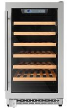 Thor Kitchen 18 in. 40-Bottle Single Zone Built-in/Freestanding Wine Cooler - HWC2405U - Bison Kitchens