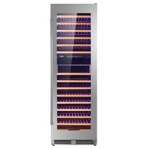 Thor Kitchen 24 in. 162 Bottle Dual Zone Freestanding Wine Cooler - TWC2403DI - Bison Kitchens
