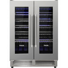 Load image into Gallery viewer, Thor Kitchen 24 in. 42 Bottle Dual Zone Built-in Wine Cooler - TWC2402 - Bison Kitchens