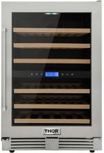 Thor Kitchen 24 in. 46-Bottle, Freestanding Indoor/Outdoor Wine Cooler - TWC2401DO - Bison Kitchens
