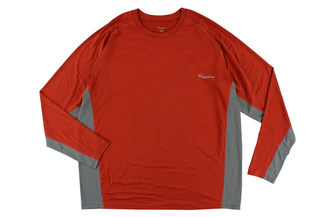 Men's Stinger Crew Workout Long Sleeve