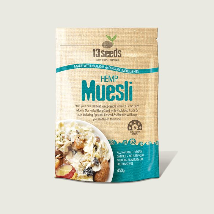 13 Seeds- Hemp Muesli 225g