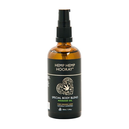 Hemp Hemp Hooray- Special Body Blend Massage Oil-Skin Care-Hemp Hemp Hooray-Hemp Arcade
