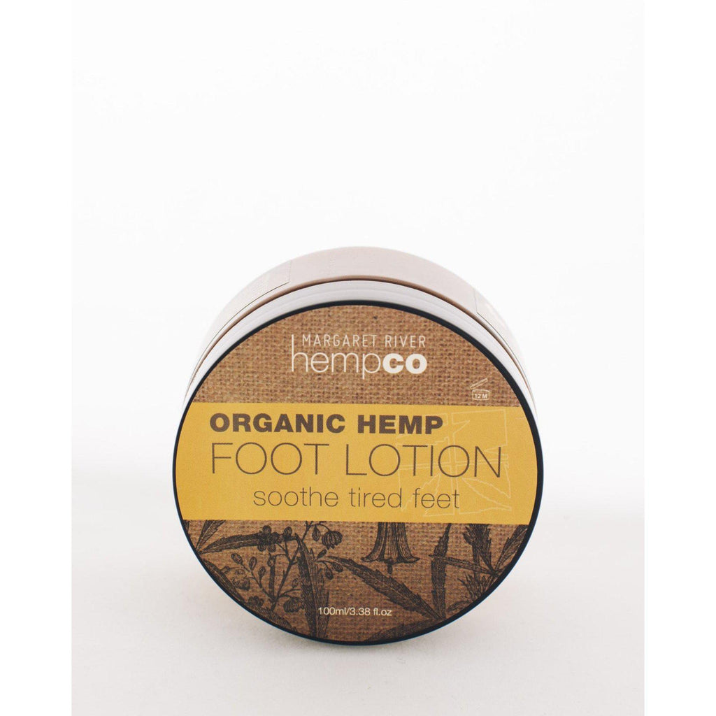 Margaret River Hempco- Organic Hemp Foot Lotion-Skin Care-Hempco-Hemp Arcade