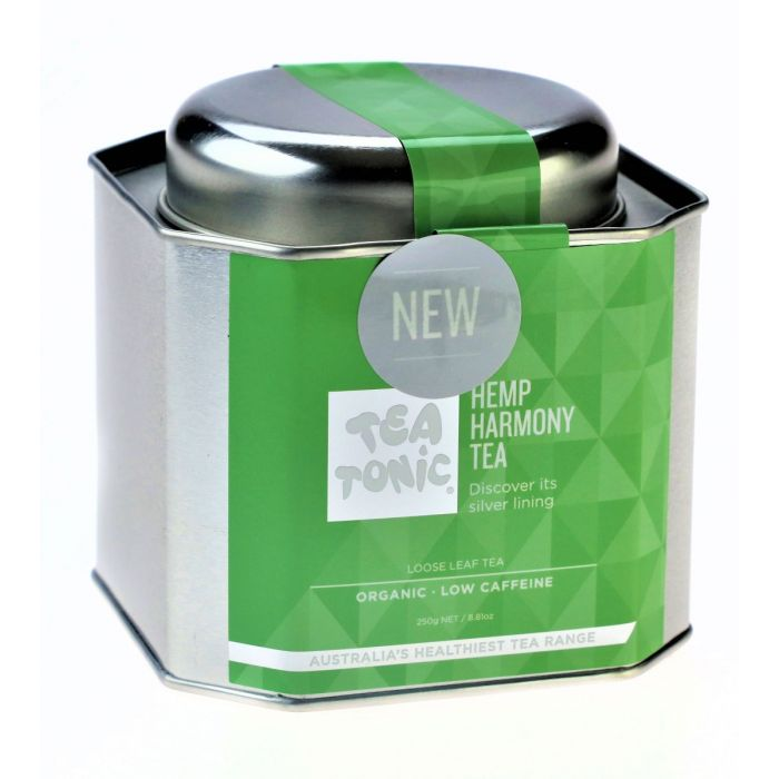 Hemp Arcade- Tea Tonic- Hemp Harmony Caddy Tin-Hemp Drinks-Hemp Tea