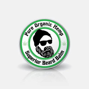The Hemp Lady- Pure Organic Superior Beard Balm-Skin Care-The Hemp Lady-Hemp Arcade