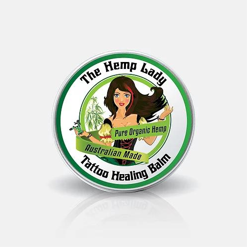 The Hemp Lady- Organic Hemp Tattoo Healing Balm-Skin Care-The Hemp Lady-Hemp Arcade