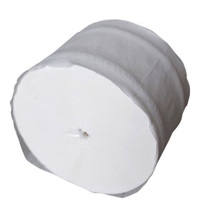 Coreless Toilet Tissue – 36 Rolls Per Case