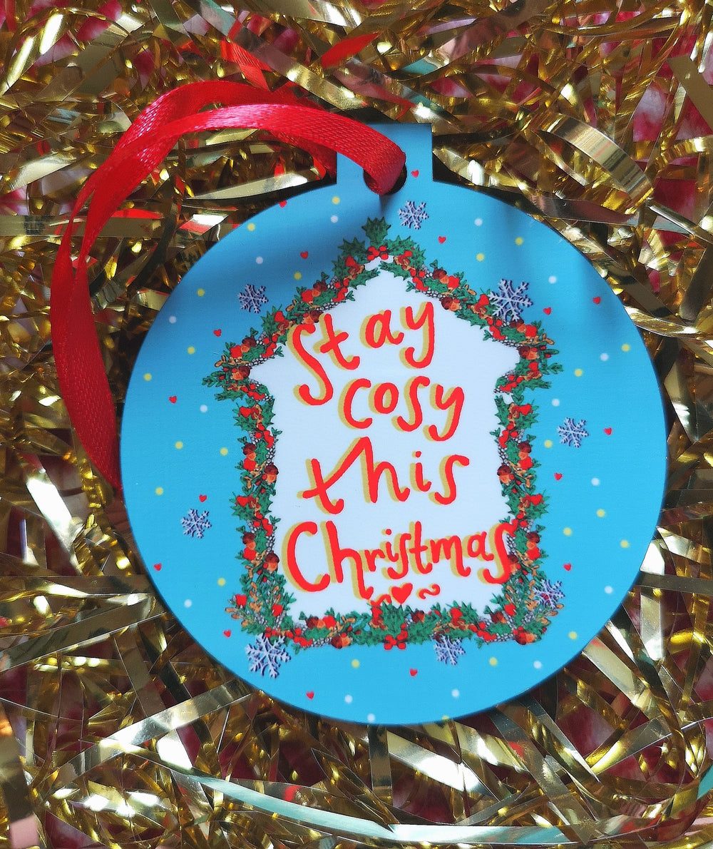 Stay COSY this Christmas! Xmas Bauble