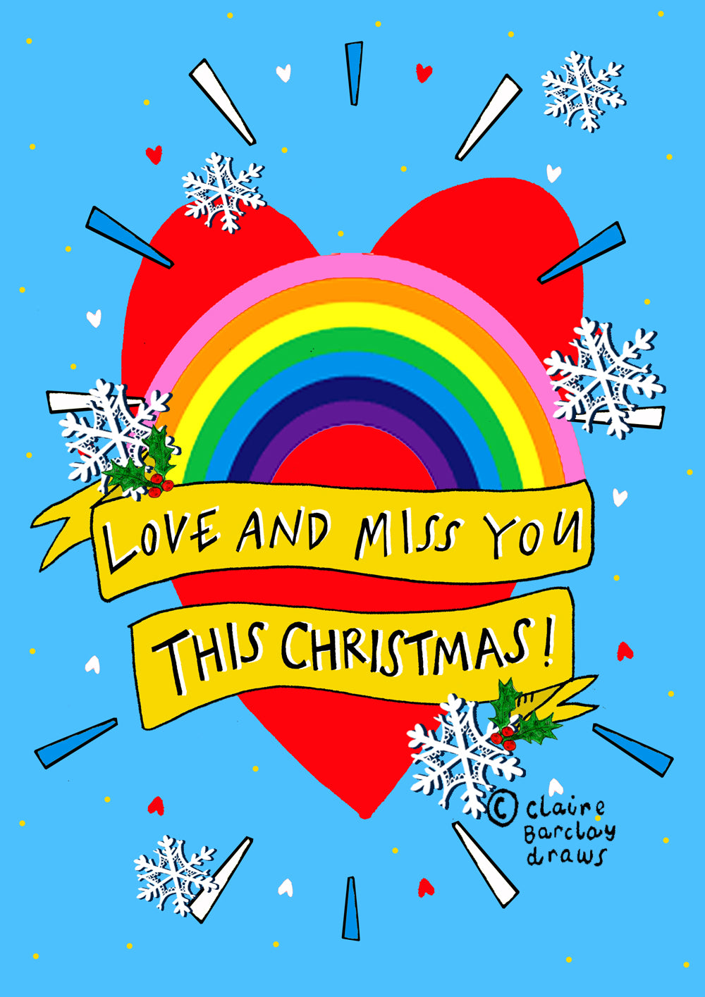 Love and Miss You this Christmas! Card