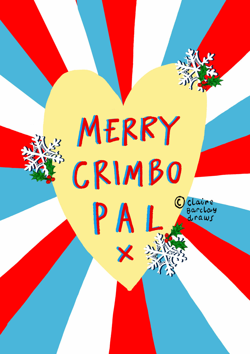 Merry Crimbo Pal! Christmas Card