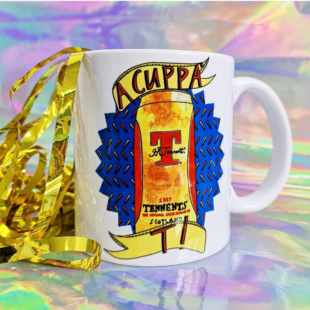 A CUPPA TEA! Tennents Mug