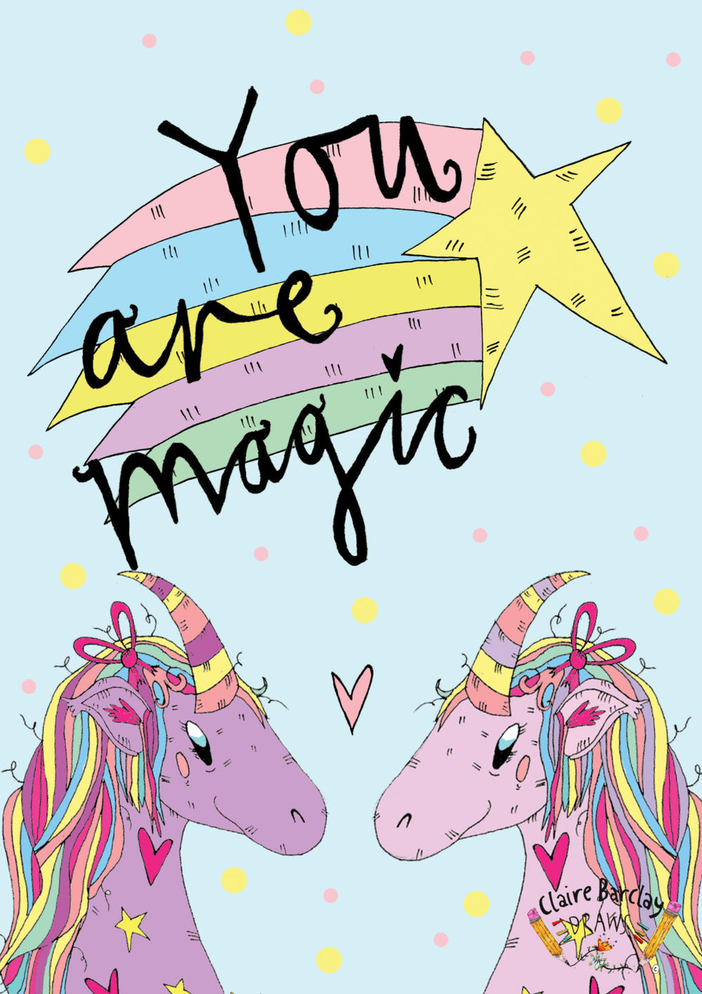YOU ARE MAGIC! Unicorn Tote Bag