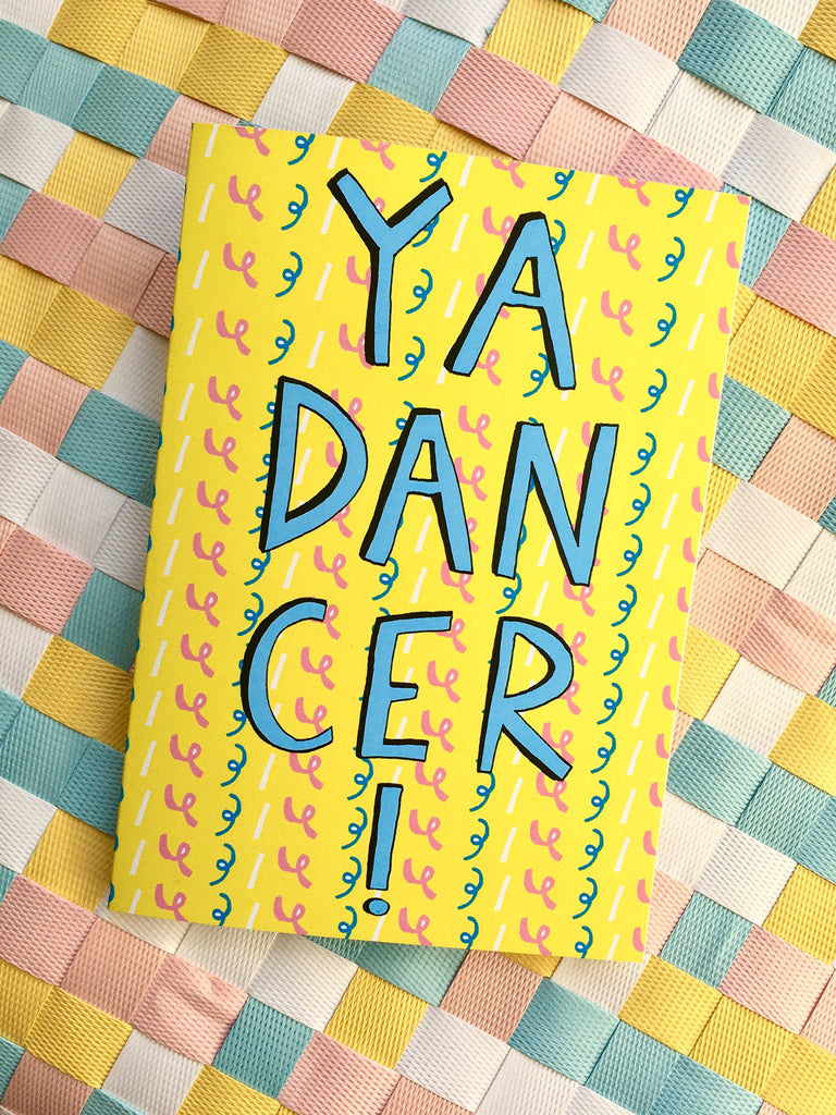 YA DANCER! Congratulations or Graduation Card, Quirky Scottish Slang Greetings Card