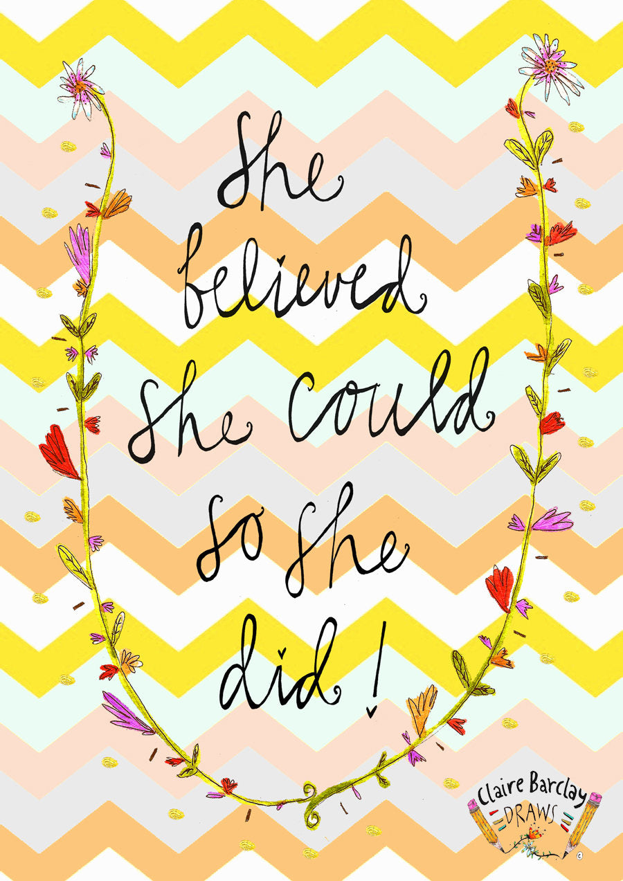 She Believed She Could So She DID! Tote Bag