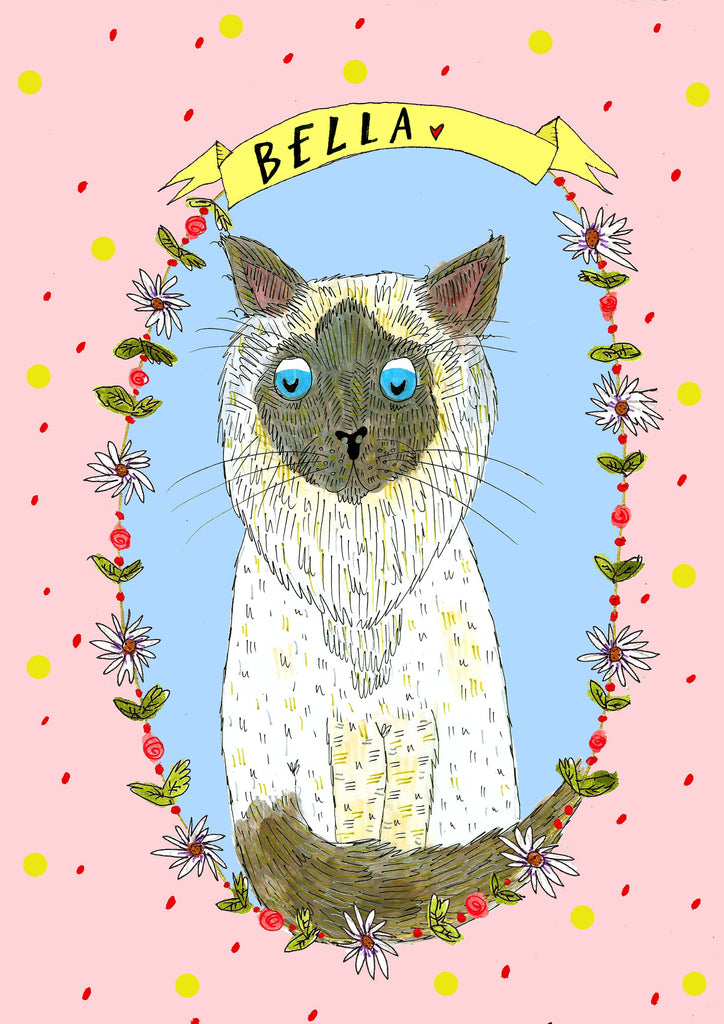 Custom Drawn Pet Portrait