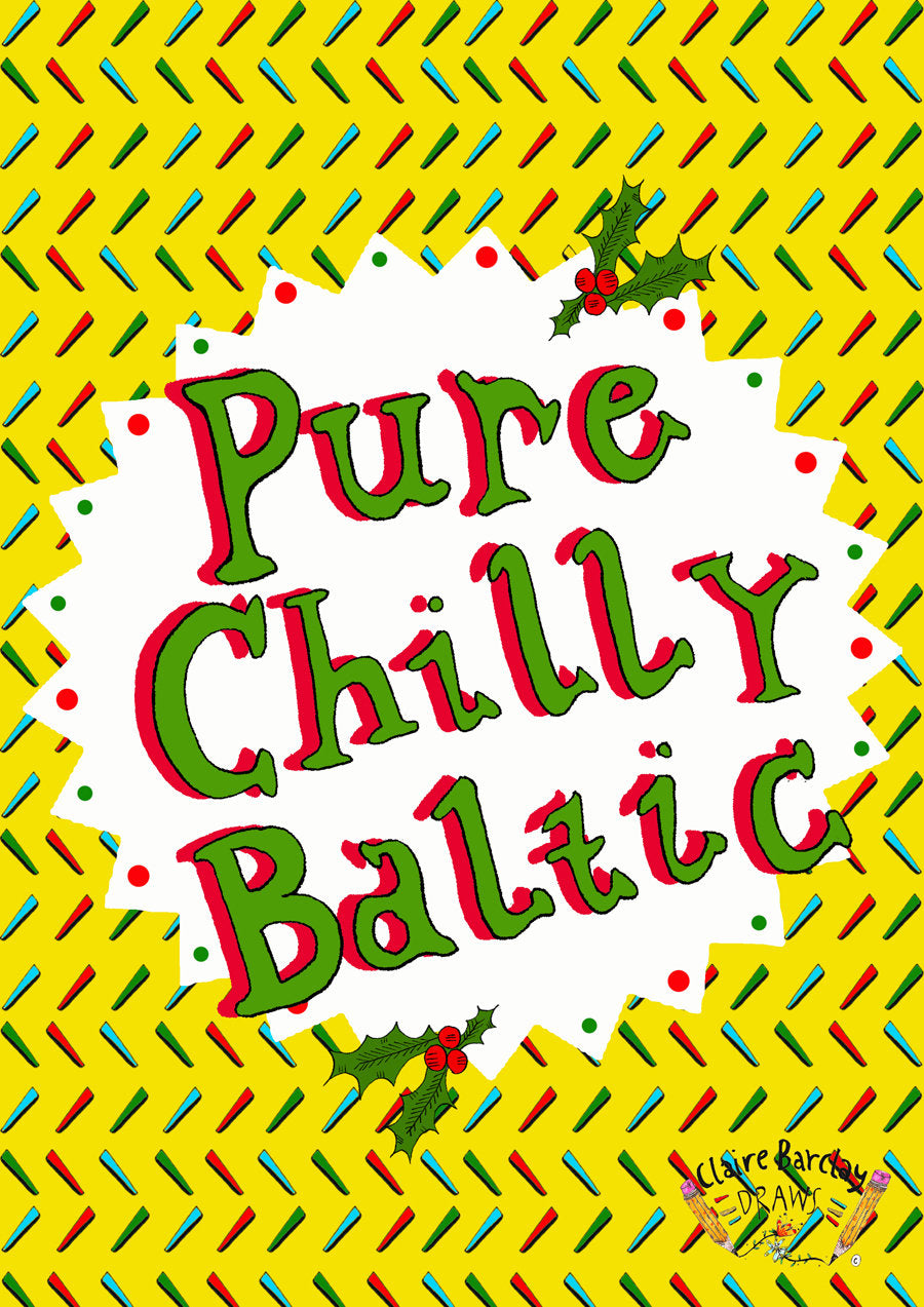 Pure Chilly Baltic! Christmas Card