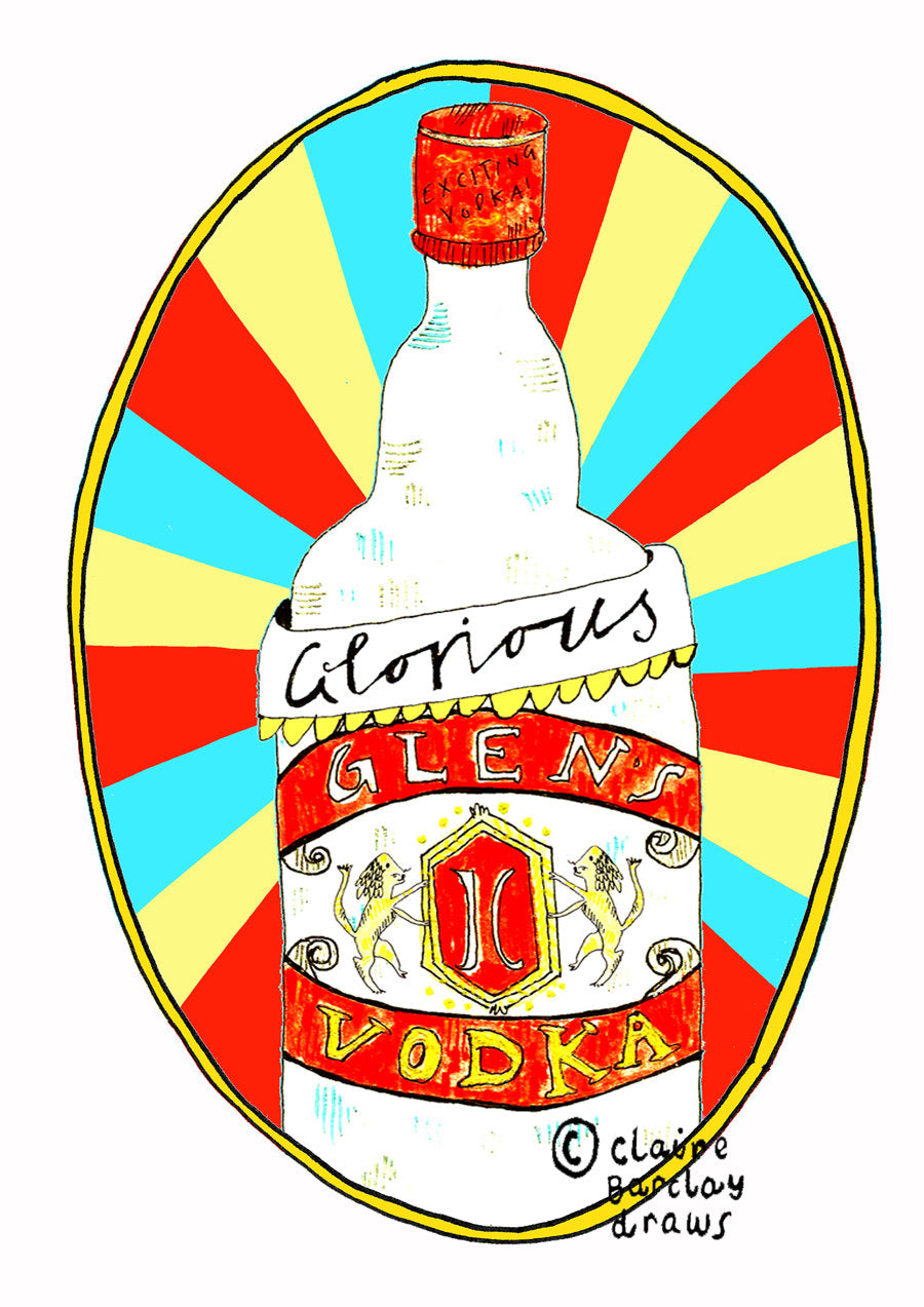 Glorious GLENS Vodka Mug