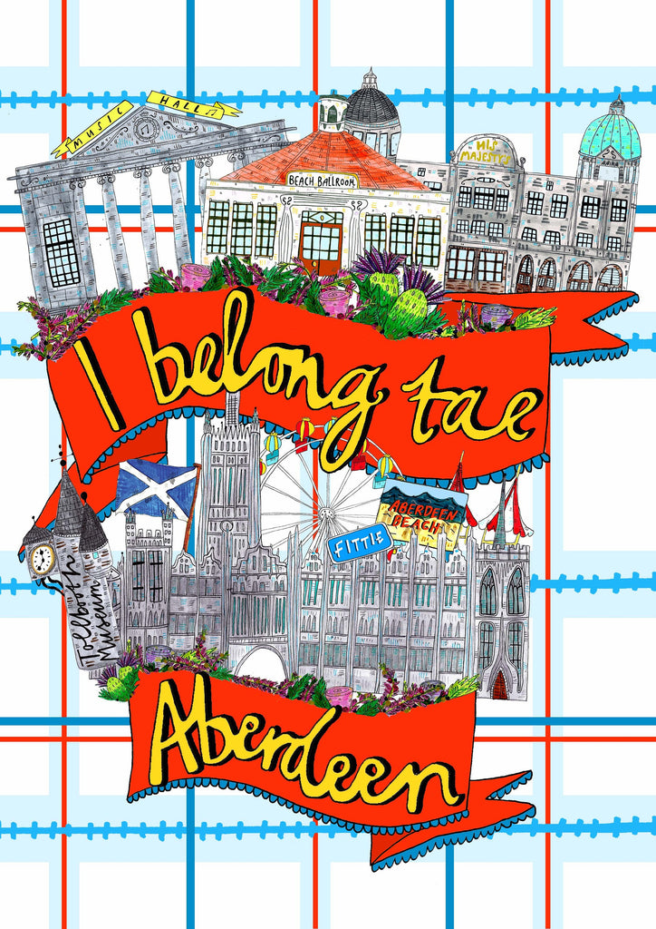 I Belong Tae Aberdeen Tote Bag