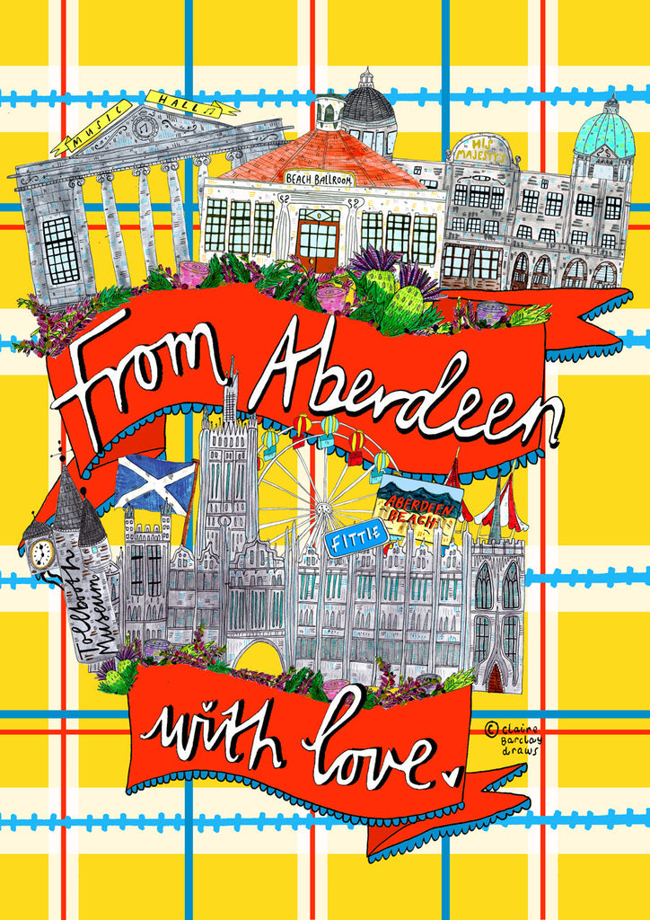 From Aberdeen With Love! Greetings Card