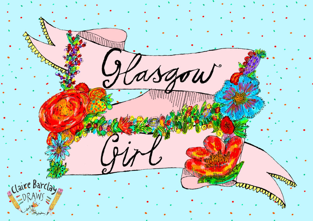 Glasgow Girl Art Print