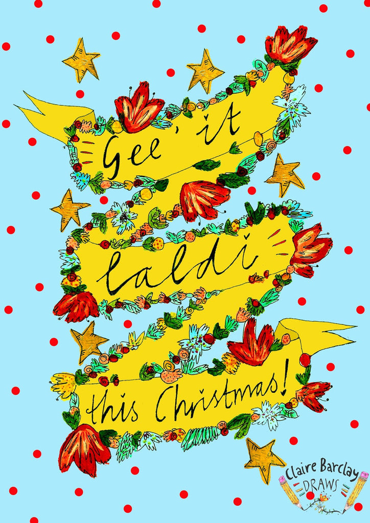 Gee It Laldi This Christmas! Card