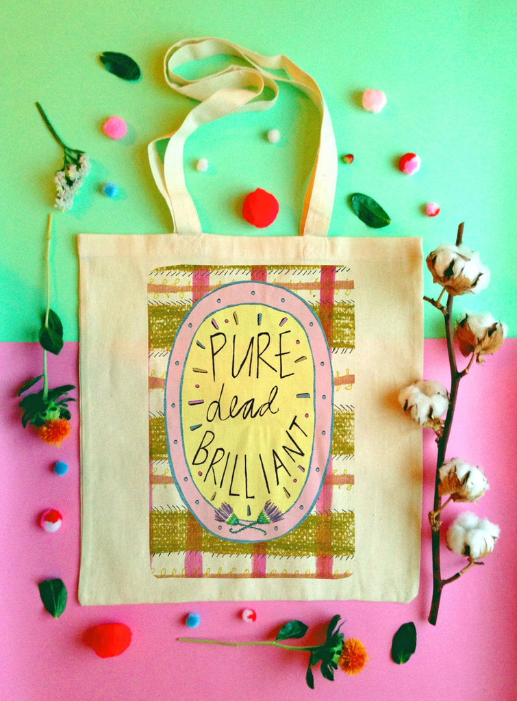PURE DEAD BRILLIANT! Tote Bag