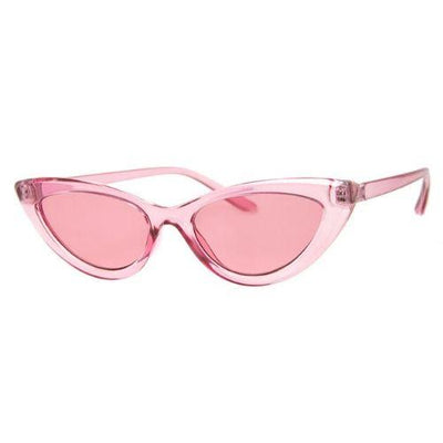 Pink Cat Eye Sunglasses accessories JEMS Boutique Style