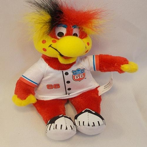 Inland Empire 66ers of San Bernardino Bernie Mascot Doll