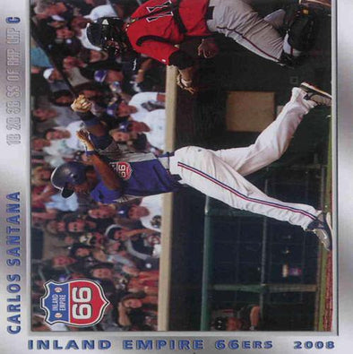 Inland Empire 66ers of San Bernardino 2008 Team Card Set