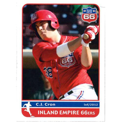 Inland Empire 66ers of San Bernardino 2012 Team Card Set