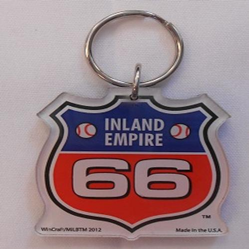 Inland Empire 66ers of San Bernardino Retro Key Chain