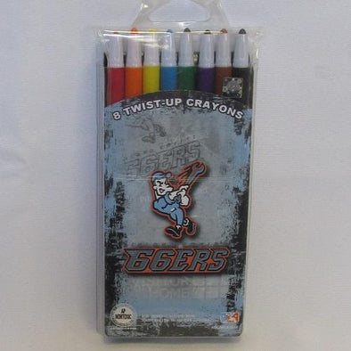 Inland Empire 66ers of San Bernardino Twist-Up Crayons