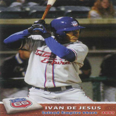 Inland Empire 66ers of San Bernardino 2007 Team Card Set