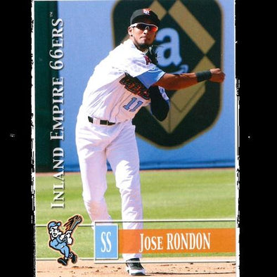Inland Empire 66ers of San Bernardino 2014 Team Card Set