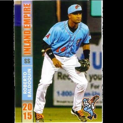 Inland Empire 66ers of San Bernardino 2015 66ers Card Set