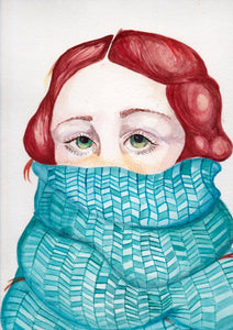 Claudia Campero - Ice Queen - Watercolour