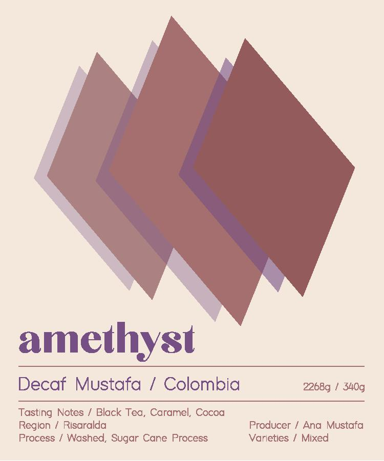 Decaf - Colombia - Ana Mustafa