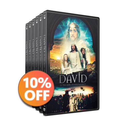 10 DVD Discount Bundle | DAVID - The King of Jerusalem