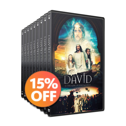 15 DVD Discount Bundle | DAVID - The King of Jerusalem