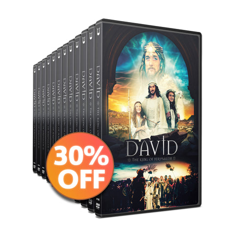 30 DVD Discount Bundle | DAVID - The King of Jerusalem