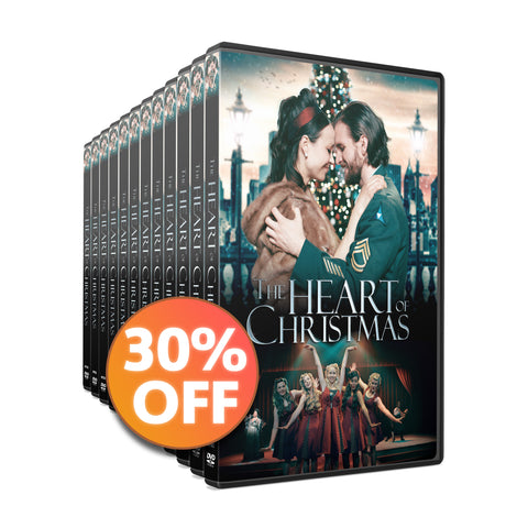 30 DVD Discount Bundle | The Heart of Christmas