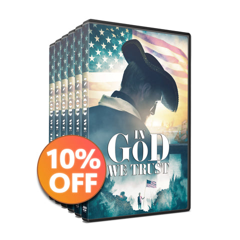 🇺🇸 10 DVD Discount Bundle | In God We Trust