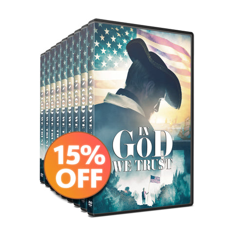 🇺🇸  15 DVD Discount Bundle | In God We Trust